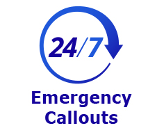 24/7 Emergency Callouts
